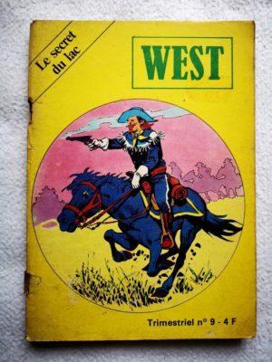 WEST N°9 BUFFALO BILL (Le secret du lac) Editions Jeunesse et Vacances 1980
