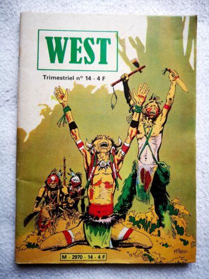WEST N°14 Buffalo Bill - La mission impossible - Jeunesse et Vacances 1981