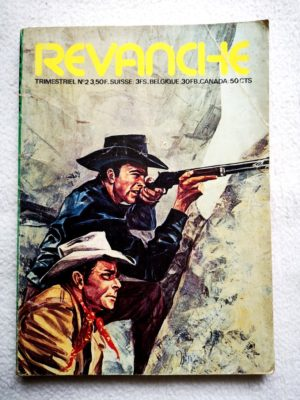 REVANCHE N°2 - Les corsaires du cosmos (Elisa Presse 1974)