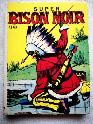 BISON NOIR AJAX ALBUM (N° 7-8) SFPI 1957