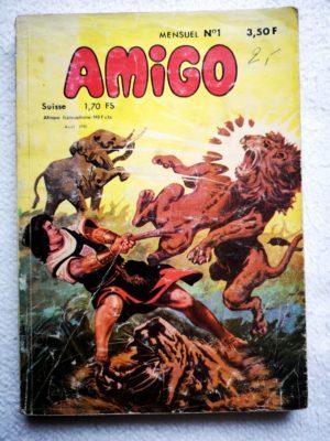 AMIGO N° 1 – Capitaine Amigo (MCL 1980)