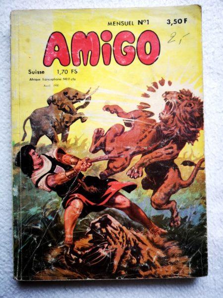 AMIGO N° 1 - Capitaine Amigo (MCL 1980)