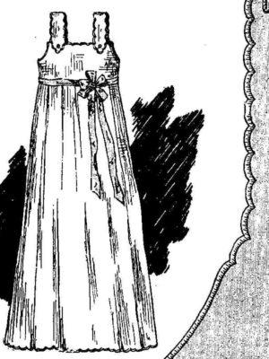 BLEUETTE – Cache maillot 1910 - Patron pour habiller la poupée