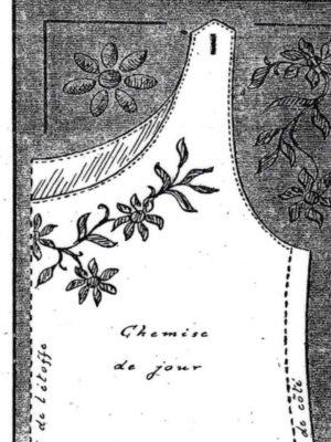 BLEUETTE – Trousseau (chemise de jour)