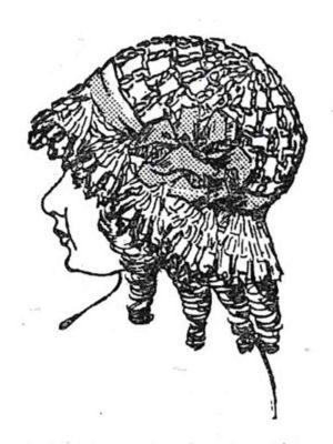 BLEUETTE – Petit chapeau en laine - Patron pour habiller la poupée