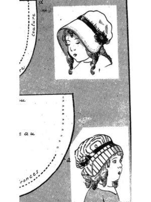 BLEUETTE – Chapeau d'été – Patron de poupée