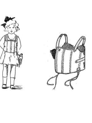 BLEUETTE – Trousseau - Corset - Patron pour habiller la poupée
