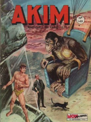 AKIM (1e série) N°149 – Le lac de poussière – MON JOURNAL 1965
