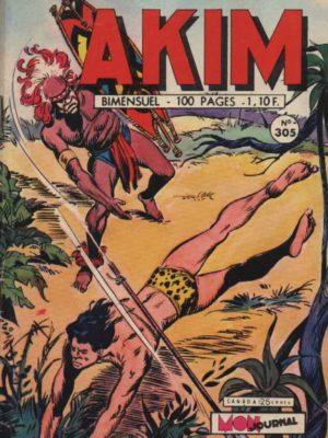 AKIM (1e série) N°305 – Le défi – MON JOURNAL 1972