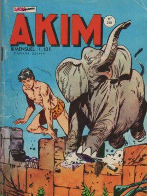 AKIM (1e série) N°313 La loi des lions – MON JOURNAL 1972