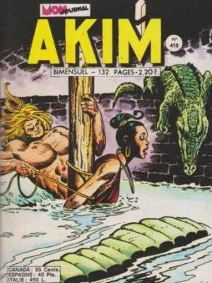 AKIM (1e série) N°413 Cent bananes mûres – MON JOURNAL 1976