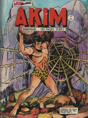 AKIM (1e série) N°431 La machine sacrée – MON JOURNAL 1977