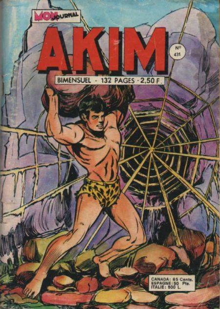 AKIM N°431 La machine sacrée - MON JOURNAL 1977