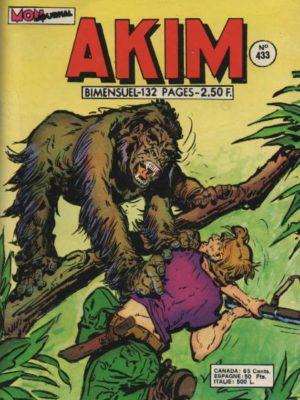 AKIM (1e série) N°433 Le chirurgien félon – MON JOURNAL 1977