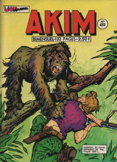 AKIM N°433 Le chirurgien félon - MON JOURNAL 1977