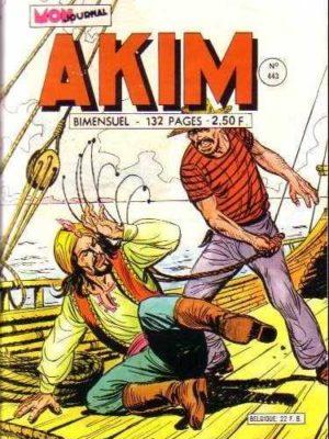 AKIM (1e série) N°443 Bombe à retardement – MON JOURNAL 1978