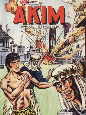 AKIM (1e série) N°446 Professeur Zéro – MON JOURNAL 1978
