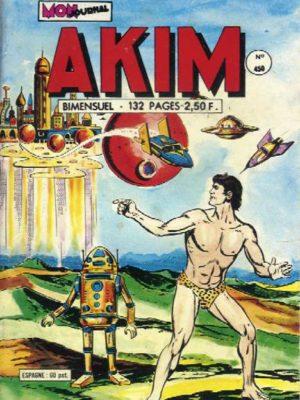 AKIM (1e série) N°450 Le fantastique royaume de Kromos – MON JOURNAL 1978