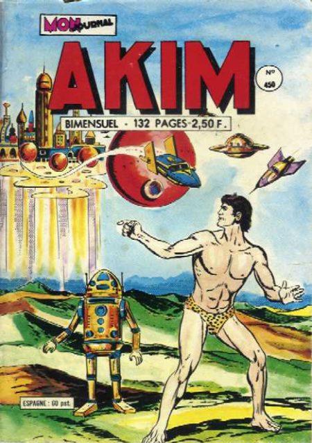 AKIM N°450 Le fantastique royaume de Kromos - MON JOURNAL 1978