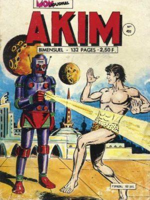 AKIM (1e série) N°451 Le prince des ombres – MON JOURNAL 1978