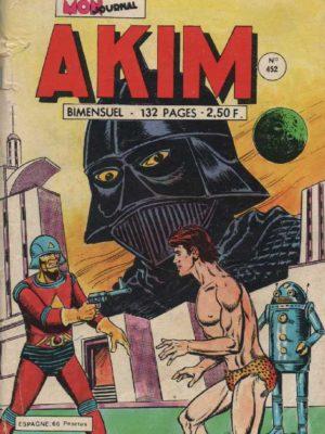 AKIM (1e série) N°452 L'affrontement – MON JOURNAL 1978