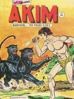 AKIM (1e série) N°453 Les défenses rouges – MON JOURNAL 1978