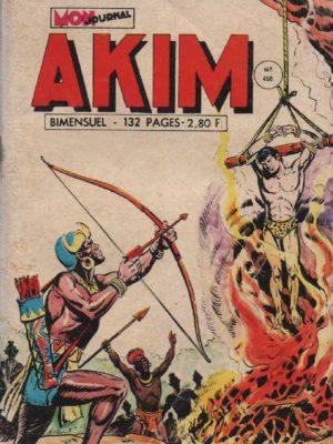 AKIM (1e série) N°458 La colère du volcan – MON JOURNAL 1978