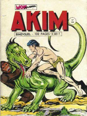 AKIM (1e série) N°459 La terre des iguanes – MON JOURNAL 1978