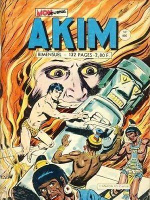 AKIM (1e série) N°466 La fontaine de feu – MON JOURNAL 1979
