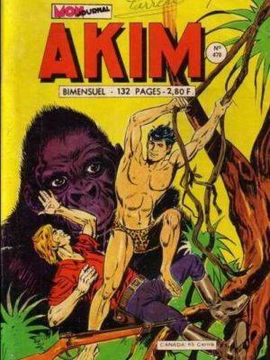 AKIM (1e série) N°470 Le seigneur de la jungle – MON JOURNAL 1979