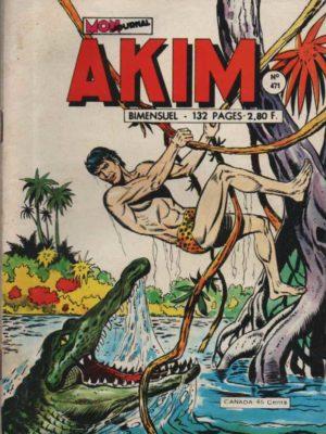 AKIM (1e série) N°471 L'idole aveugle – MON JOURNAL 1979