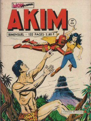 AKIM (1e série) N°474 Le retour du faucon – MON JOURNAL 1979