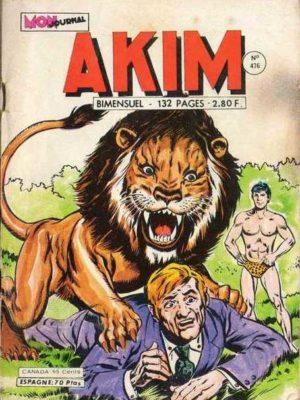 AKIM (1e série) N°476 AKIM va en ville – MON JOURNAL 1979