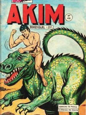 AKIM (1e série) N°478 Le jour des dragons – MON JOURNAL 1979