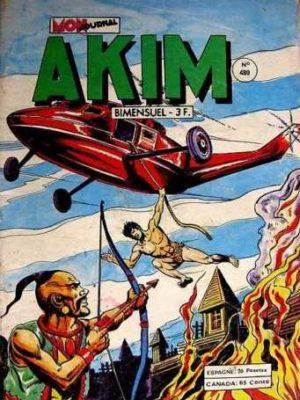 AKIM (1e série) N°480 Le royaume des Katir – MON JOURNAL 1979