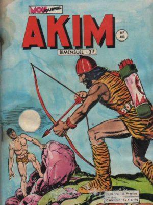 AKIM (1e série) N°483 Le labyrinthe secret – MON JOURNAL 1979