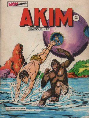 AKIM (1e série) N°486 Génius trouve une alliée – MON JOURNAL 1979