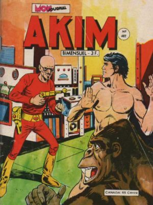 AKIM (1e série) N°487 Le secret de la grande idole – MON JOURNAL 1979