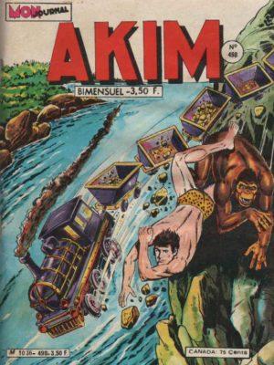 AKIM (1e série) N°498 Le trésor du Maharaja – MON JOURNAL 1980