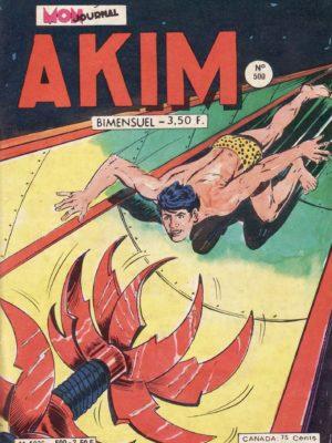 AKIM (1e série) N°500 La fin de Toukar – MON JOURNAL 1980