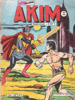 AKIM (1e série) N°502 XUR la reine de Mogar – MON JOURNAL 1980