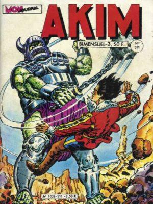 AKIM (1e série) N°511 Le mystère des Groks – MON JOURNAL 1980