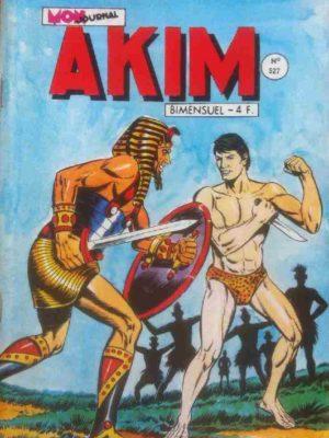AKIM (1e série) N°527 Les hommes bleus – MON JOURNAL 1981