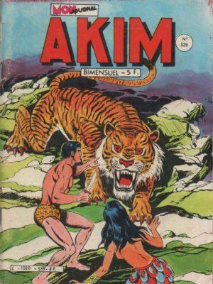 AKIM (1e série) N°539 Skar, le tigre – MON JOURNAL 1982