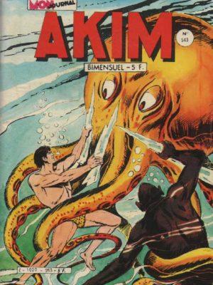 AKIM (1e série) N°543 La salle des miroirs – MON JOURNAL 1982