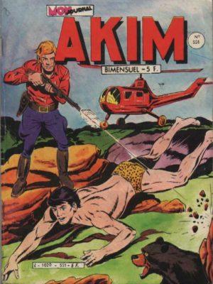 AKIM (1e série) N°551 Le marécage noir – MON JOURNAL 1982