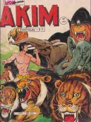 AKIM (1e série) N°563 Sérum O – MON JOURNAL 1983