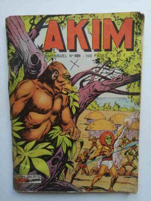 AKIM (1e série) N°101 – Le nid d'aigle – MON JOURNAL 1963