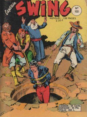 CAPTAIN SWING N°122 - La loi d'Uriel - MON JOURNAL 1976