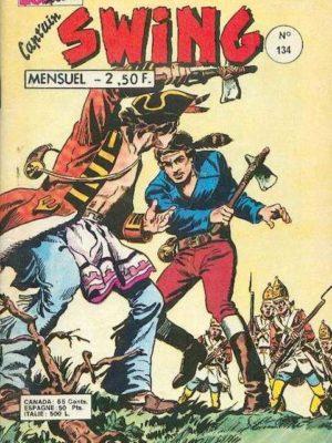 CAPTAIN SWING (1e série) N°134 – Fils des démons et de la mort – MON JOURNAL 1977